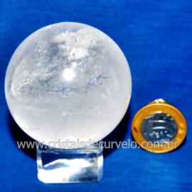Bola Cristal Comum Qualidade Pedra Uso Esoterico Cod 119767