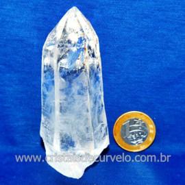 Lemuria Pequeno Quartzo Comum Cristal Lemuriano Natural Cod 119446