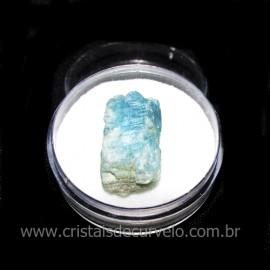 Cianita Azul Canudo No Estojo Natural de Garimpo Cod 115799