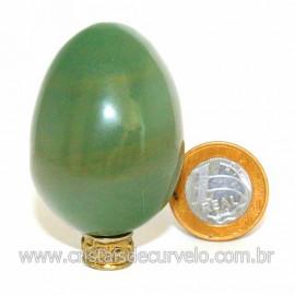 Ovo Aventurina Verde Pedra Quartzo Verde Natural Cod 127085