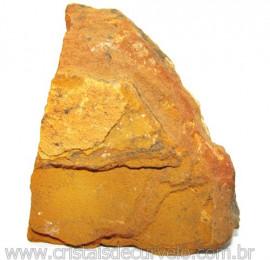 Jaspe Amarelo Pedra Bruta Natural P/ Esoterismo Cod 115225
