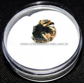 Rutilo Estrela na Matriz de Hematita No Estojo Cod 115119