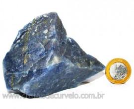 Quartzo Azul ou Aventurina Azul Bruto Natural Cod 110799