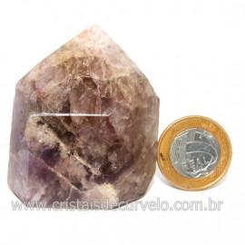 Ponta Pedra Fumetista Natural garimpo Lapidado Cod 128704