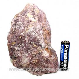 Lepidolita Mica Natural Mineral P/Colecionador Cod 124261
