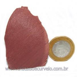 Dolomita Vermelha Pedra Natural Bruto de Garimpo Cod 116169