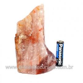 Hematoide Vermelho Natural Quartzo Cristalizado Cod 118324