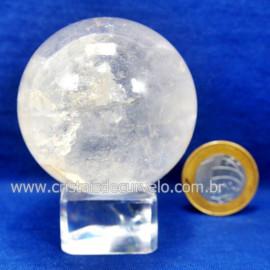 Bola Cristal Boa Qualidade Esfera Pedra Natural Cod 127548