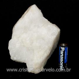 Quartzo Leitoso ou Branco Pedra Bruto Natural Cod 118655