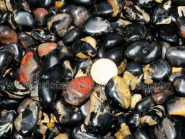 ONIX PRETO Rolado Medio Pacote 1kg Natural Reff RM8947