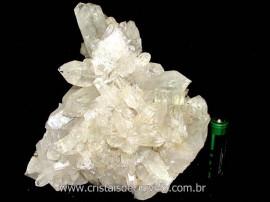Drusa Cristal Natural Pedra Grande Boa Qualidade Cod DG9739