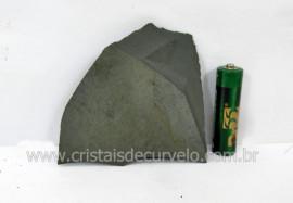 Ardosia Bruto Pedra Pra Colecionador ou Estudante de Minerais Geologia Cod 81.5