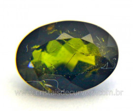 Gema Turmalina Verde Pedra Natural Montagem Joias Cod TV2717
