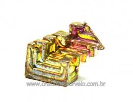Bismuto Mineral ou Bismuth Stone Pedra Natural Cod BB4367