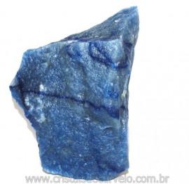 Quartzo Azul ou Aventurina Azul Bruto Natural Cod 110794