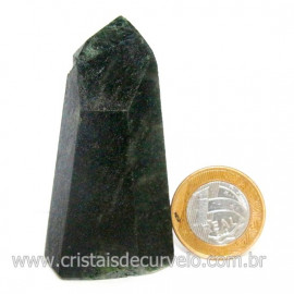 Ponta Epidoto Verde Na Matriz Ideal Para Coleção Cod 128505