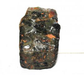 Onix Preto Pedra Bruto Natural Família Calcedonia Cod 110958