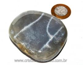 Massageador de Seixo Pedra Agata Natural Cod MA7957