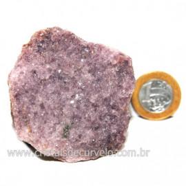 Lepidolita Mica Natural Mineral P/Colecionador Cod 124273