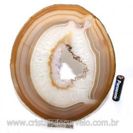 Chapa de Agata cornalina  Porta Frios Bandeja Pedra Natural 123416