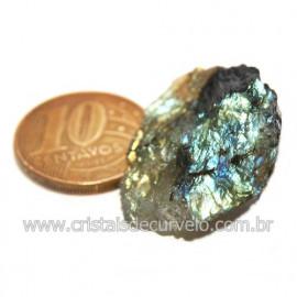 Labradorita Canadense Mineral Natural No Estojo Cod 123833