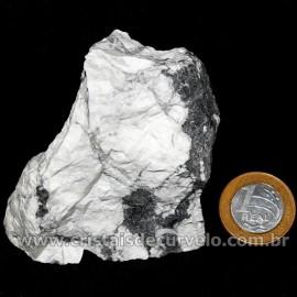 Howlita Pedra Natural P Colecionador e Esoterismo Cod 126804