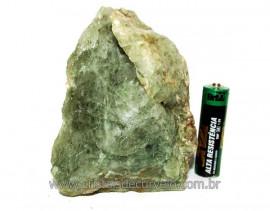 Epidoto Verde Filamento na Matriz Cristal Quartzo Cod EQ6984