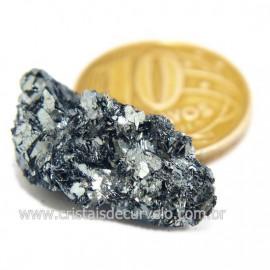 Galena Pedra Bruto Mineral Fonte Chumbo e Prata Cod 124240
