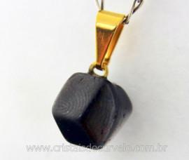 Pingente GRANADA Pedra de Garimpo Pedrinha Rolado Mineral Natural