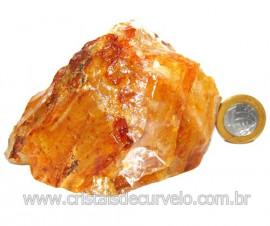 Hematoide Amarelo Pedra Bruto Quartzo Natural Cod 114651