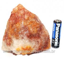 Hematoide Vermelho Natural Quartzo Cristalizado Cod 121499