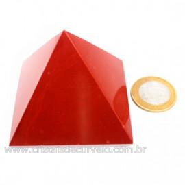 Piramide Jaspe Vermelho Baseada na Grande Queops Cod 124022