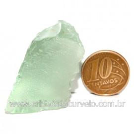 Obsidiana Verde Pedra Vulcanica Ideal P/ Coleçao Cod 128435