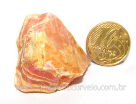 Rodocrosita Argentina Extra Pedra Natural Garimpo Cod RA2146