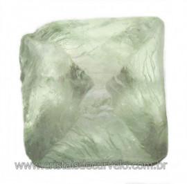 Fluorita Cubica da Mongólia Pedra Natural Pra Coleção 115918