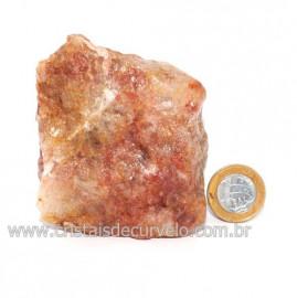 Hematoide Vermelho Natural Quartzo Cristalizado Cod 121495
