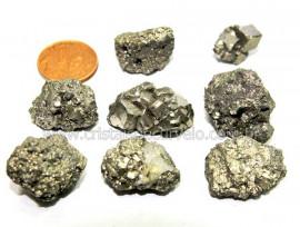 02 Pirita Pedra Bruta Natural Pequeno Garimpo Reff PU4400