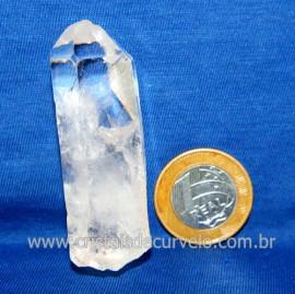 Lemuria Pequeno Quartzo Comum Cristal Lemuriano Natural Cod 119477
