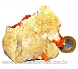 Calcedonia Geodo Pedra Bruto Natural de Garimpo Cod 110398