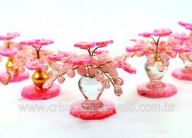 04 Arvore da Primavera Pedra Rolada Quartzo Rosa REFF AJ8323