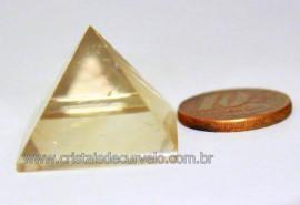 Piramide Citrino Natural Medidas Baseada em Queops Cod PC6588
