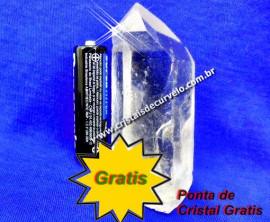 Cristal Gratis  Ponta Bruta Inclua Em Sua Compra Brinde de Promoção Apenas 1 Unid