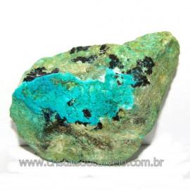 Crisocola Bruto Natural Pedra Nativa do Cobre Cod 113604