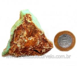 Crisoprasio Bruto Especial Pedra da Esperança Cod 119683