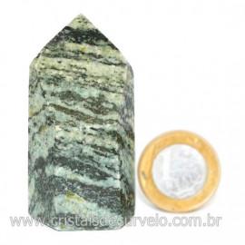 Ponta Pedra Quartzo Brasil Natural Gerador sextavado 128268