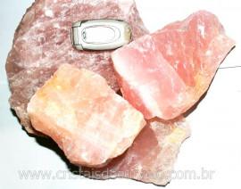 QUARTZO ROSA Pedra Bruto Para Lapidar Pacote Atacado 20 kg