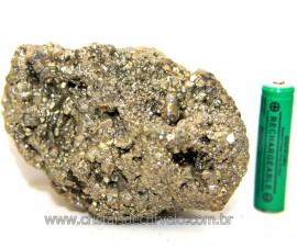 Pirita Peruana Pedra Extra Com Belos Cubo Mineral Cod 111089