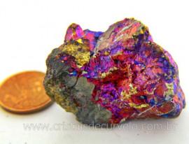 Bornita ou Pedra Pavão Mineral Para Esoterismo Cod BB4022