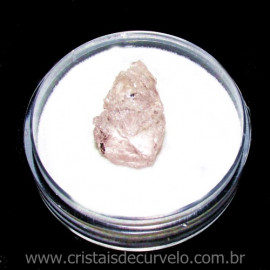 Morganita no Estojo Pedra Natural Berilo Rosa Cod 115510