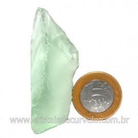 Obsidiana Verde Pedra Vulcanica Ideal P/ Coleçao Cod 128431